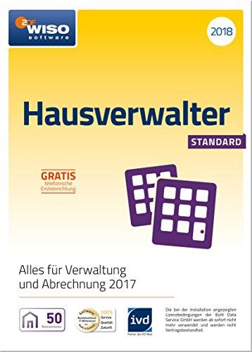 WISO Hausverwalter (2018) Standard Software - Die Rundum-sorglos-Lösung für kleine Hausverwaltungen und Eigentümer (Frustfreie Verpackung)