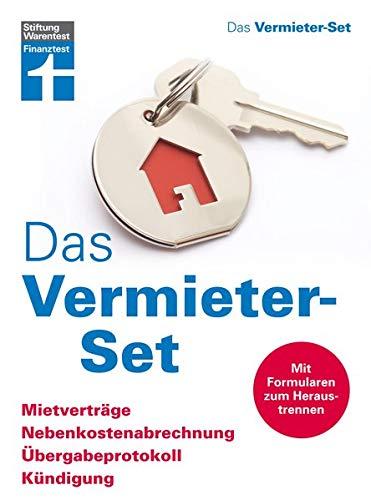 Das Vermieter-Set: Mietverträge, Nebenkostenabrrechnung, Übergabeprotokoll, Kündigung