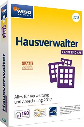 WISO Hausverwalter 2018 Professional Software, Die Profisoftware für alle Vermieter und Hausverwaltungen