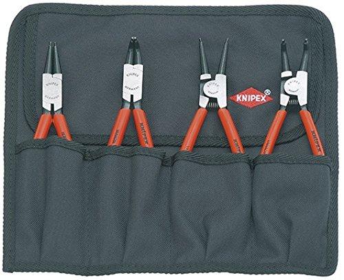 KNIPEX 00 19 56 Sicherungsringzangen-Set 4-teilig