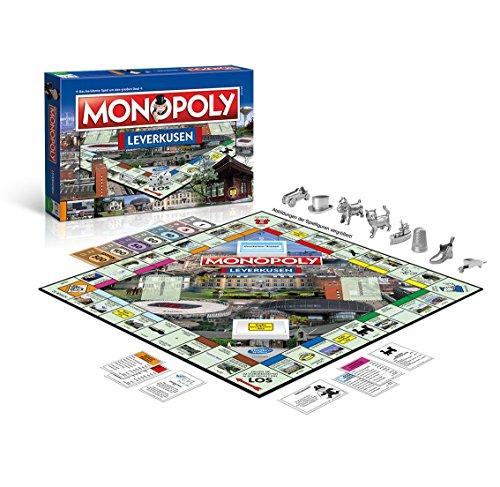Monopoly Leverkusen Stadt Edition - Das weltberühmte Spiel um Grundbesitz und Immobilien